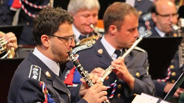 Hudba Hradní stráže a Policie ČR zahájila 19. ročník Mezinárodního hudebního festivalu.