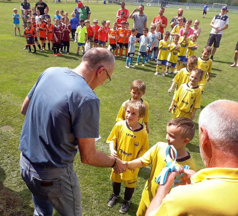 Celkem 19 týmů bojovalo ve Vilémově v rámci Bambini Cupu 2021.