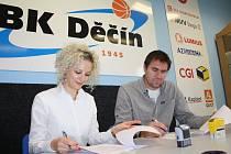 Hlavním partnerem BK Děčín se pro novou sezonu stala reklamní agentura LED MEDIA GROUP.