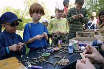 Terénní ekologická základna Buk v Krásné Lípě zorganizovala víkendové oslavy Dne Země.