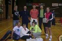 OPĚT NA VRCHOLU. Unterwassermani (na snímku) dokázali uspět v konkurenci patnácti týmů a vyhráli volejbalový turnaj ve Varnsdorfu.