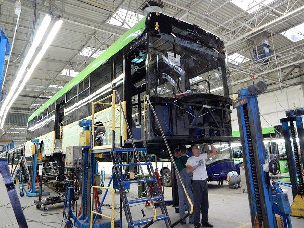 Autobusy pro linkovou dopravu jsou téměř hotové.