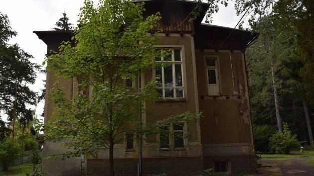Bývalé sanatorium Frankenstein v Rumburku.