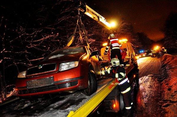 Dopravní nehoda ve Varnsdorfu - Studánce.