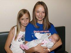 Hana Janebová se narodila Haně Janebové z Velkého Šenova 10. září v 18.35 v rumburské porodnici. Měřila 52 cm a vážila 3,65 kg.
