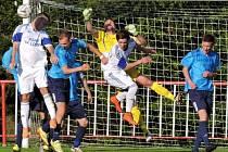 MODRÁ doma remizovala s Louny, na penalty pak vyhráli hosté.