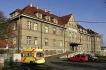 Lužická nemocnice v Rumburku.
