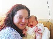 Michaela Tomášková, se narodila v ústecké porodnici dne 29. 9. 2013 (15.15) mamince Veronice Tomáškové ze Šluknova, měřila 50 cm, vážila 3,89 kg.
