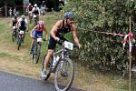 Triatlon Železný knedlík 2018 absolvovalo téměř 120 závodníků.