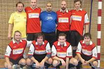 DOBRÁ ZKUŠENOST. Sálovkáři FC Veteráns Želenice na národním finále poháru nakonec ze silné skupiny nepostoupili.