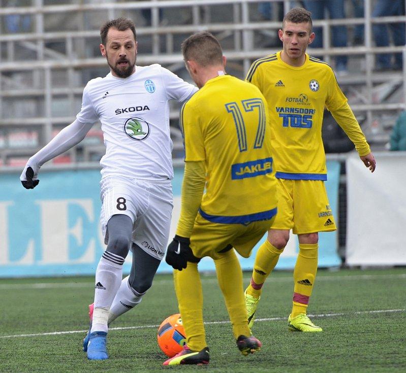 VARNSDORF zaskočil Mladou Boleslav, když vyhrál 1:0.