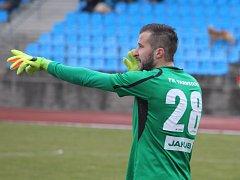 RADEK PORCAL - brankář FK Varnsdorf.