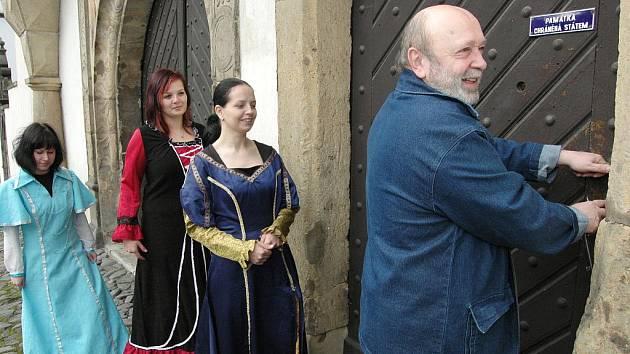 Vrata benešovského státního zámku se letos poprvé otevřela veřejnosti.