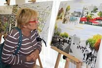 V bývalé knihovně v Podmoklech je k vidění výstava soutěžních návrhů.