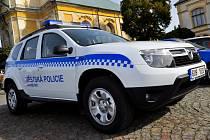 Nové vozidlo MP Varnsdorf.