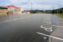 Povodně Děčín, 5.6.2013 odpoledne
