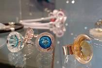 Výstava Skleněný šperk.