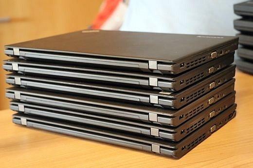 Celkem 84 repasovaných notebooků od společnosti Česko.Digital a Microsoft putovalo do dětských domovů.