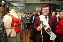 Na výstavu před třemi lety dorazil i filmový princ z Popelky – Pavel Trávníček.