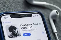 Sociální síť Clubhouse.