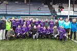 DALŠÍ SETKÁNÍ. Letos to byl již 22. ročník tradičního setkání bývalých hráčů, trenérů a funkcionářů fotbalového týmu FK Pelikán Děčín.