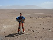 Bolívijsko-chilský přechod byl nejvýše položeným hraničním přechodem na naší cestě.