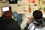Den otevřených dveří na ARO děčínské nemocnice.