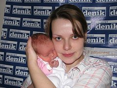 Miroslavě Menšíkové z Vansdorfu se 23. února v 11.20 hodin v ústecké porodnici narodila dcera Anna. Měřila 44 cm a vážila 2,28 kg.