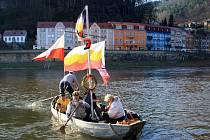Jaro připluje do Děčína v sobotu.
