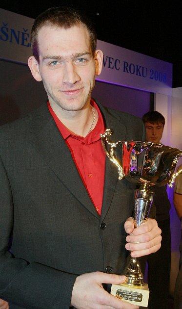 SPORTOVEC. Jakub Houška je úspěšný také vanketě Nejúspěšnější sportovec.