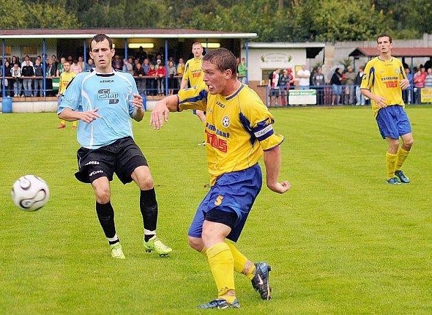 Varnsdorfští fotbalisté potvrdili ve Vilémově roli favorita.