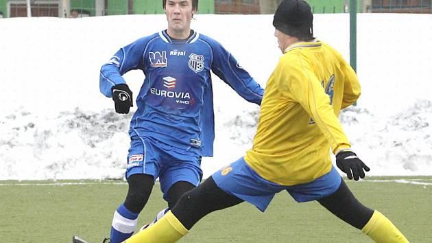 Slovan remizoval na půdě podzimního lídra druhé ligy.