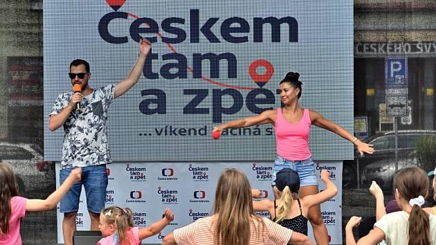 Českem tam a zpět v Krásné Lípě.