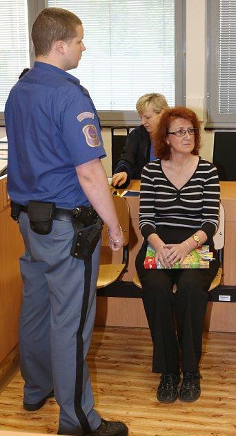 Věra Marešová stanula před soudem.