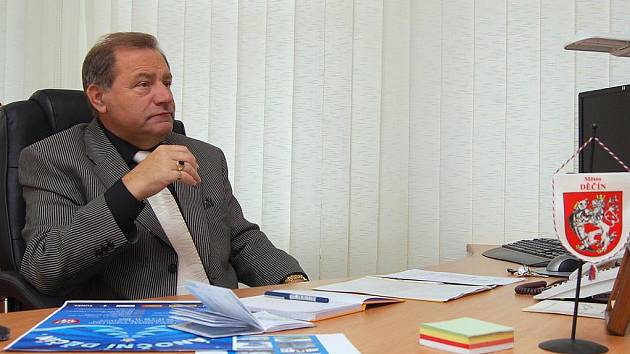 Děčínský primátor František Pelant
