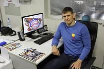 MANAŽER HC DĚČÍN Jan Havlíček už musí přemýšlet nad další sezónou.