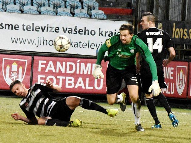 PARÁDA! Varnsdorf vyhrál v Českých Budějovicích 1:0.