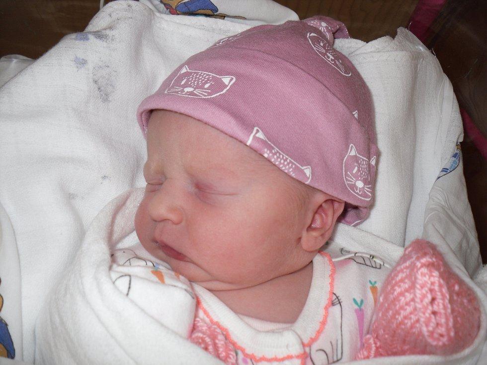 Rodičům Ladrovým z Ludvíkovic se ve čtvrtek 7. listopadu v 11.55 hodin narodila dcera Veronika Anna Ladrová. Vážila 3,42 kg.