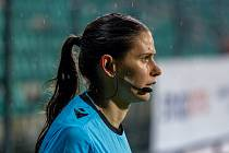 Fotbalová rozhodčí - ilustrační foto.