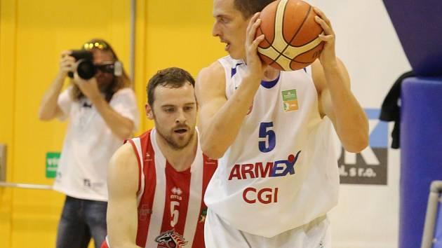 BK Armex Děčín - BK JIP Pardubice 75:54.
