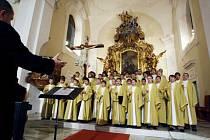 Český chlapecký sbor BONI PUERI  zazpívá ve Varnsdorfu