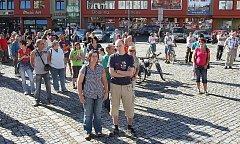 Protest v Rumburku 2.10.2011.