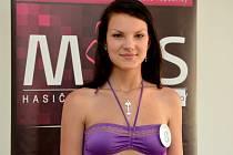 Jana Tomková na castingu. Podařilo se jí postoupit mezi devět nejkrásnějších hasiček Česka a Slovenska. Finále se bude konat 11. října 2013 v Praze.