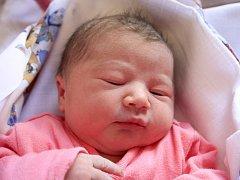 Adélka Lišková se narodila Daně Liškové z Benešova n. Pl. 18. srpna v 7.20 v děčínské porodnici. Měřila 48 cm a vážila 2,85 kg.