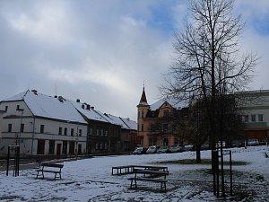 První sníh se objevil například ve Verneřicích
