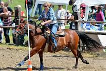 Jubilejní třicáté rodeo v Království u Šluknova.