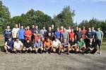 V Arnolticích se konal nohejbalový turnaj, vyhráli ho domácí.