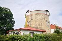 Větrný mlýn v Arnolticích.
