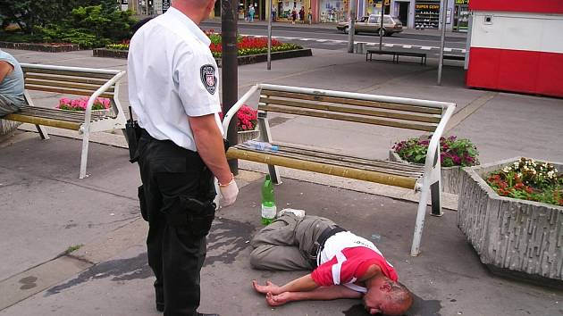 Cílem strážníků není  represe