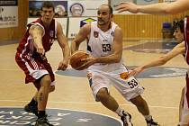 Basketbalisté Děčína mají pauza, někteří hráči si léčí šrámy.